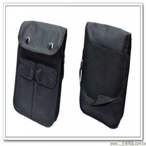 黑色帆布公文袋