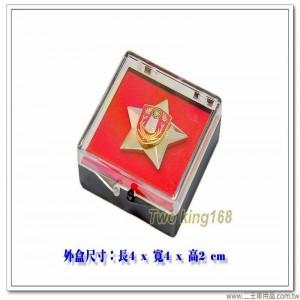 陸軍專科學校紀念章 #士校正規班紀念章(星形)(含盒)【bg2-17】