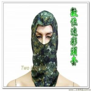 國軍數位迷彩頭套(排汗)