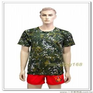 國軍數位迷彩涼感衣 #彈力排汗衫