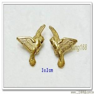 金色警鴿領章(銅質)
