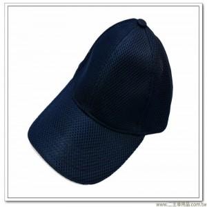 三層排汗帽(深藍色前滾白邊)  [3-9-1]