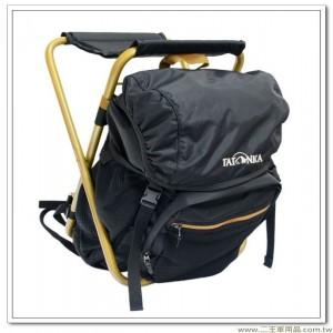 德國品牌TATONKA超輕鋁合金板凳背包(黑色尼龍防水布)