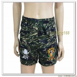 早期海軍陸戰隊運動短褲(虎斑迷彩)(骷顱頭標誌)