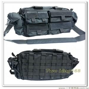 Y091黑色參謀袋 #戰地記者包