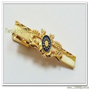 海軍官校領帶夾(銅質)【t9-1】