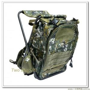 國軍數位迷彩板凳背包 #板凳包 #椅子背包(中)