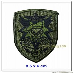 越戰綠扁帽特種部隊章臂章【5-22】