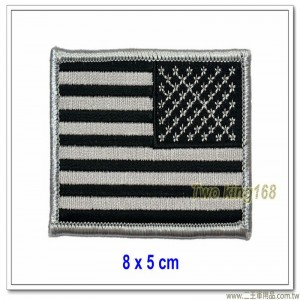 美國國旗臂章(ACU)(逆風)