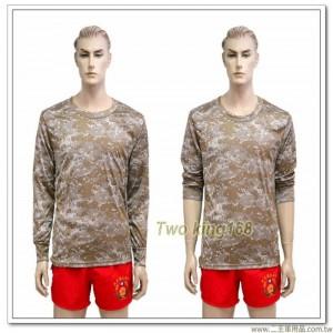 沙漠數位迷彩長袖內衣(中空保暖)