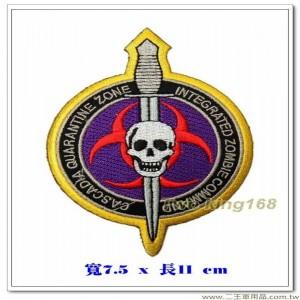 卡斯卡迪亞隔離區-特攻隊臂章【國外562】