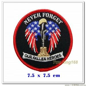 永不忘記我們那些死去的勇士 紀念臂章【國外563】