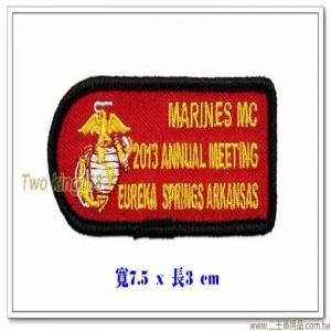 美國海軍陸戰隊2013年會徽章【國外582】