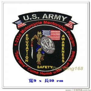 美國陸軍-安全意識教育徽章【國外585】