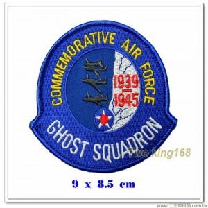 美國陸軍幽靈中隊紀念臂章【國外586】