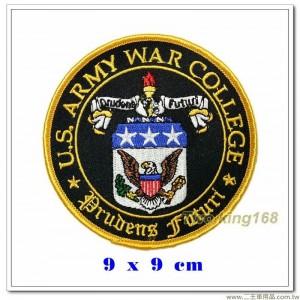 美國陸軍戰爭學院徽章【國外590】