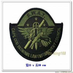 特種武器和戰術部隊 #美國特種警察部隊臂章【國外596】
