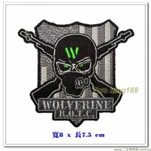 密西根大學 海軍後備軍官訓練隊徽章 #金鋼狼營【國外599】