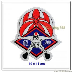中華民國陸軍神龍小組臂章(10x11) #新式 #明視度 #傘兵【國內C-15-2】