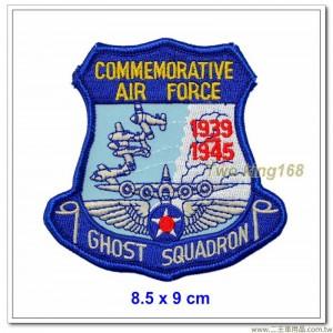 美國空軍幽靈中隊臂章(8.5x9)【國外231】