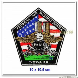 NEWARK飛安管制臂章(10x10.5)【國外203】