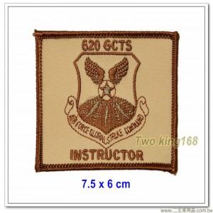 美國空軍紀念章(教官)(7.5x6)【國外611】