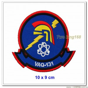 美國海軍電子攻擊中隊(VAQ-131)臂章 #槍騎兵 (10x9)【國外635】