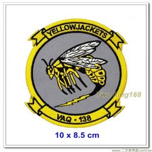美國海軍電子攻擊中隊(VAQ-138)臂章 #黃夾克【國外634】
