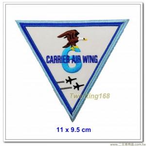 美國海軍艦載機聯隊(CVW-6)臂章(11x9.5)【國外638】