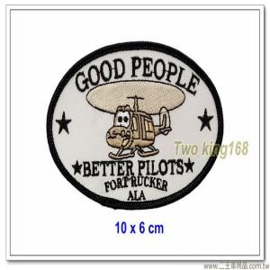 美國空軍直升機飛行員胸章(10x6)【國外628】