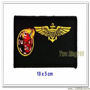 美國海軍飛行胸章(10x5)【國外362-1】
