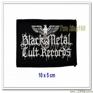 納粹胸章(黑色金屬樂團)(10x5)【國外640】