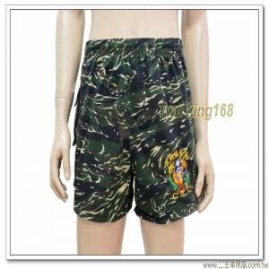 早期海軍陸戰隊運動短褲(虎斑迷彩)(陸戰隊徽)