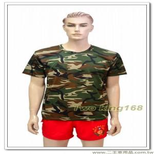 美國陸軍大迷彩排汗衫(中)