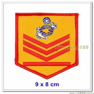 60年代早期海軍陸戰隊臂章(上士)【國內141】