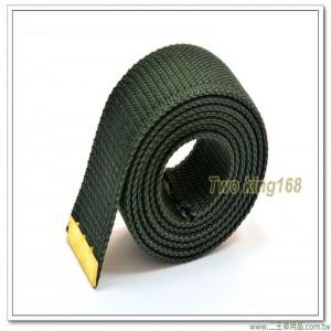 軍用軍便服腰帶 - 海陸綠紗帶