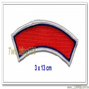 SWAT霹靂小組半月型臂章