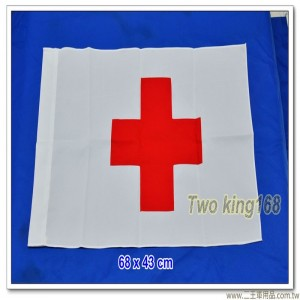 紅十字旗(聚酯纖維布)(68x43公分)