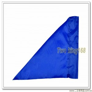 軍用標桿旗(藍色)(防水尼龍布) #軍用三角旗