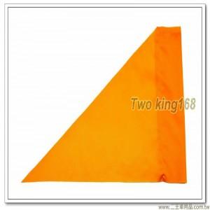 軍用標桿旗(黃色)(防水尼龍布) #軍用三角旗