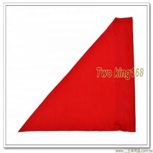 軍用標桿旗(紅色)(防水尼龍布) #軍用三角旗