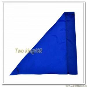 軍用砲位旗(藍色)(防水尼龍布) #軍用三角旗