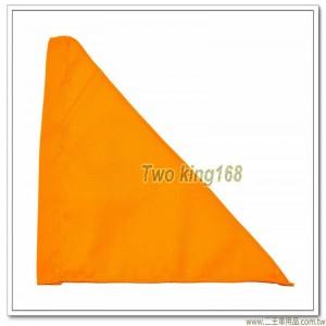 軍用砲位旗(黃色)(防水尼龍布) #軍用三角旗