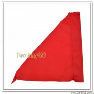 軍用砲位旗(紅色)(防水尼龍布) #軍用三角旗