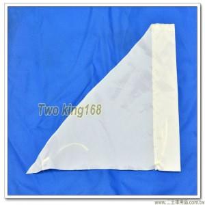 軍用砲位旗(白色)(防水尼龍布) #軍用三角旗