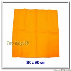 黃色警戒旗(目標旗)(斜紋布) 200x200公分