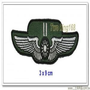空軍士官督導長胸章-中尉(布質) #士官督導長徽 #督導長榮譽徽【空軍13-8】