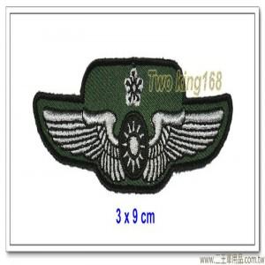 空軍士官督導長胸章-少校(布質) #士官督導長徽 #督導長榮譽徽【空軍13-6】