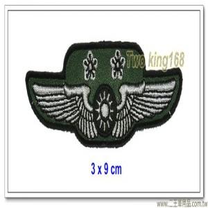 空軍士官督導長胸章-中校(布質) #士官督導長徽 #督導長榮譽徽【空軍13-5】