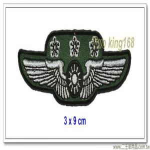 空軍士官督導長胸章-上校(布質) #士官督導長徽 #督導長榮譽徽【空軍13-4】